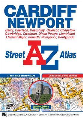 Cardiff & Newport Street Atlas by Geographers A-Z Map Company