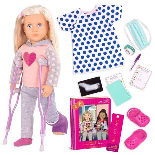 "Our Generation: 18"" Deluxe Doll & Book - Martha"