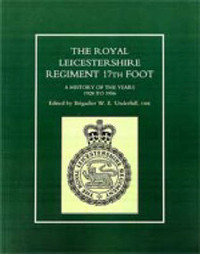 Royal Leicestershire Regiment, 17th Foot by W.E. Underhill image
