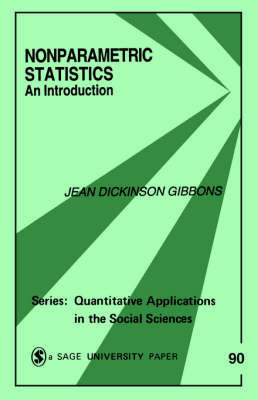 Nonparametric Statistics by Jean D. Gibbons Fielden