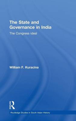 The State and Governance in India by William F. Kuracina image