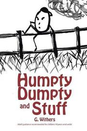 Humpty Dumpty and Stuff by G Withers image