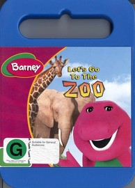 Barney: Let's Go To The Zoo on DVD image