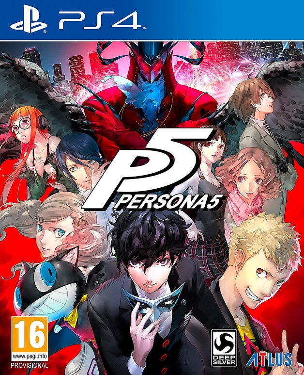 Persona 5 for PS4