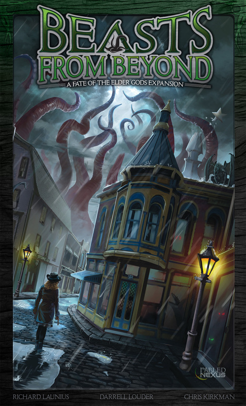 Fate of the Elder Gods: Beasts From Beyond - Expansion Set