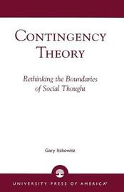 Contingency Theory by Gary Itzkowitz image