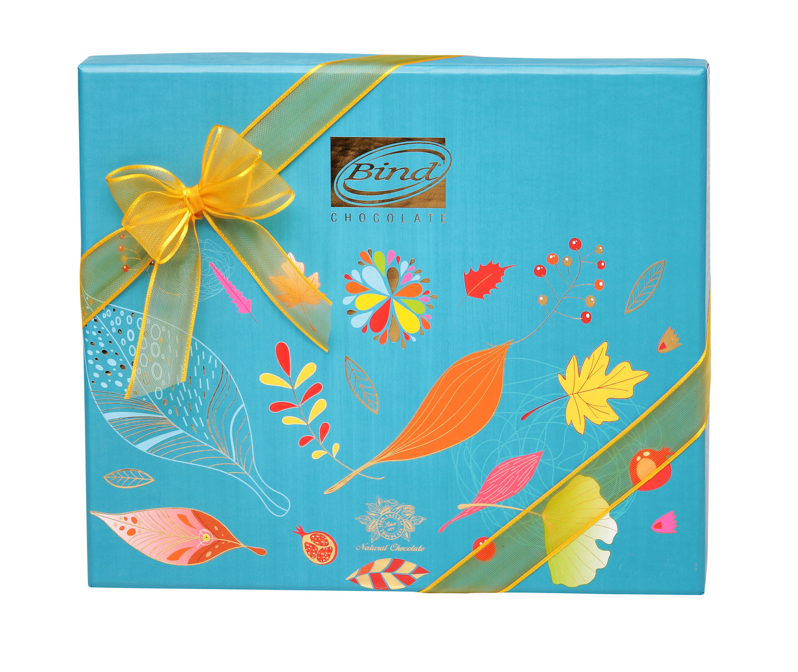 Bind Chocolates: Autumn Collection Turquoise Box (320g) image