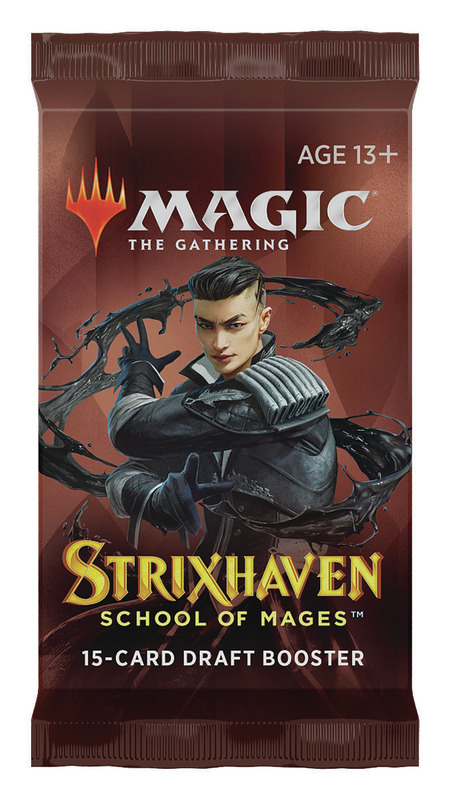 Magic the Gathering: Strixhaven: School of Mages Draft Booster - Single