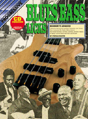 Progressive Blues Bass Licks: CD Pack by Richter