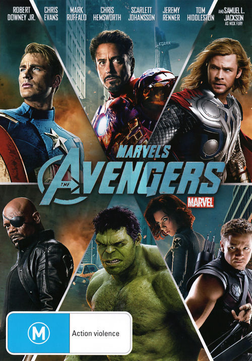 The Avengers on DVD image