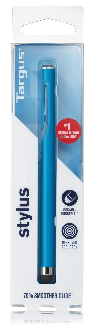 Targus: Standard Stylus with Embedded Clip - Blue image