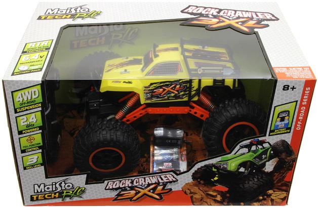 Maisto Tech Rock Crawler 3XL - Yellow