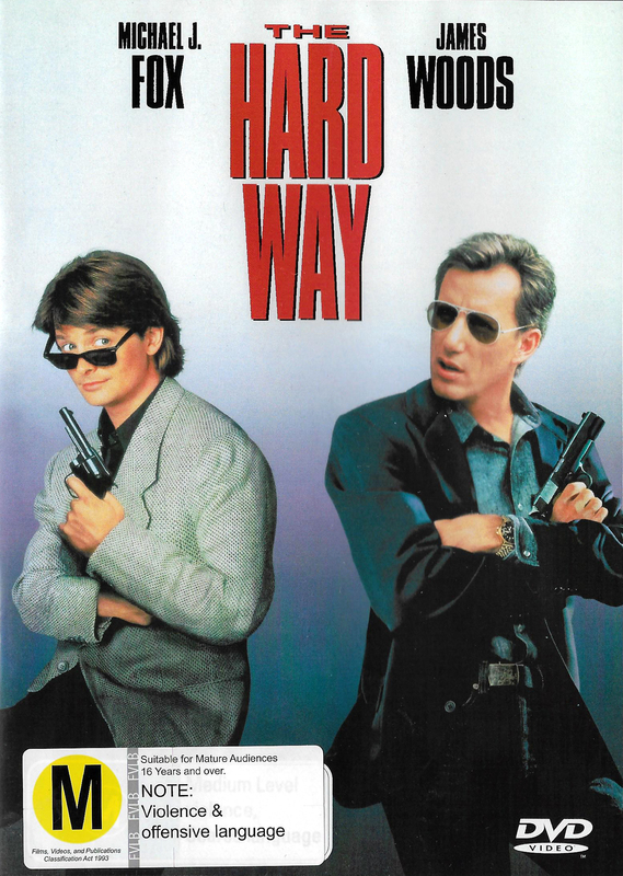 The Hard Way on DVD