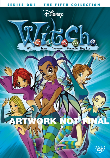 W.I.T.C.H. - Series 1: Vol. 5 on DVD image