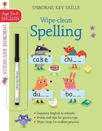 Wipe-clean Spelling 5-6 by Jane Bingham