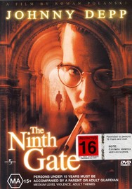 The Ninth Gate on DVD image