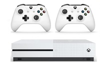 Xbox One S 1TB Console Two Controller Bundle for Xbox One