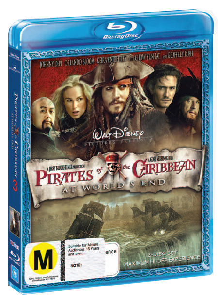 Pirates of the Caribbean - At World's End (2 Disc Set) on Blu-ray image