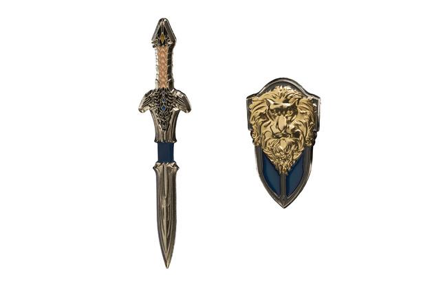 Warcraft: Lothar Sword + Shield Dual Pin