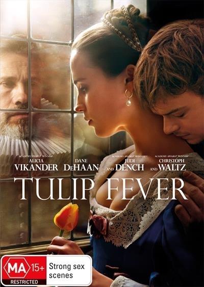 Tulip Fever on DVD image