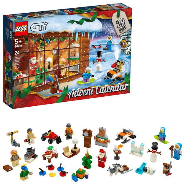 LEGO City - 2019 Advent Calendar (60235)