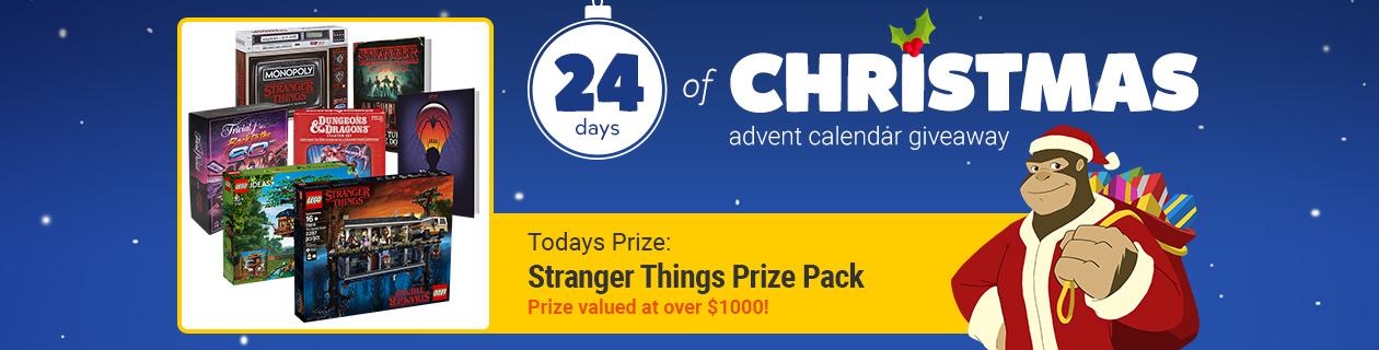 24 Days: Stranger Things Prize Pack