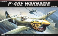 Academy P-40E Warhawk 1/72 Model Kit