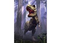 3D LiveLife Poster - T-Rex Scene
