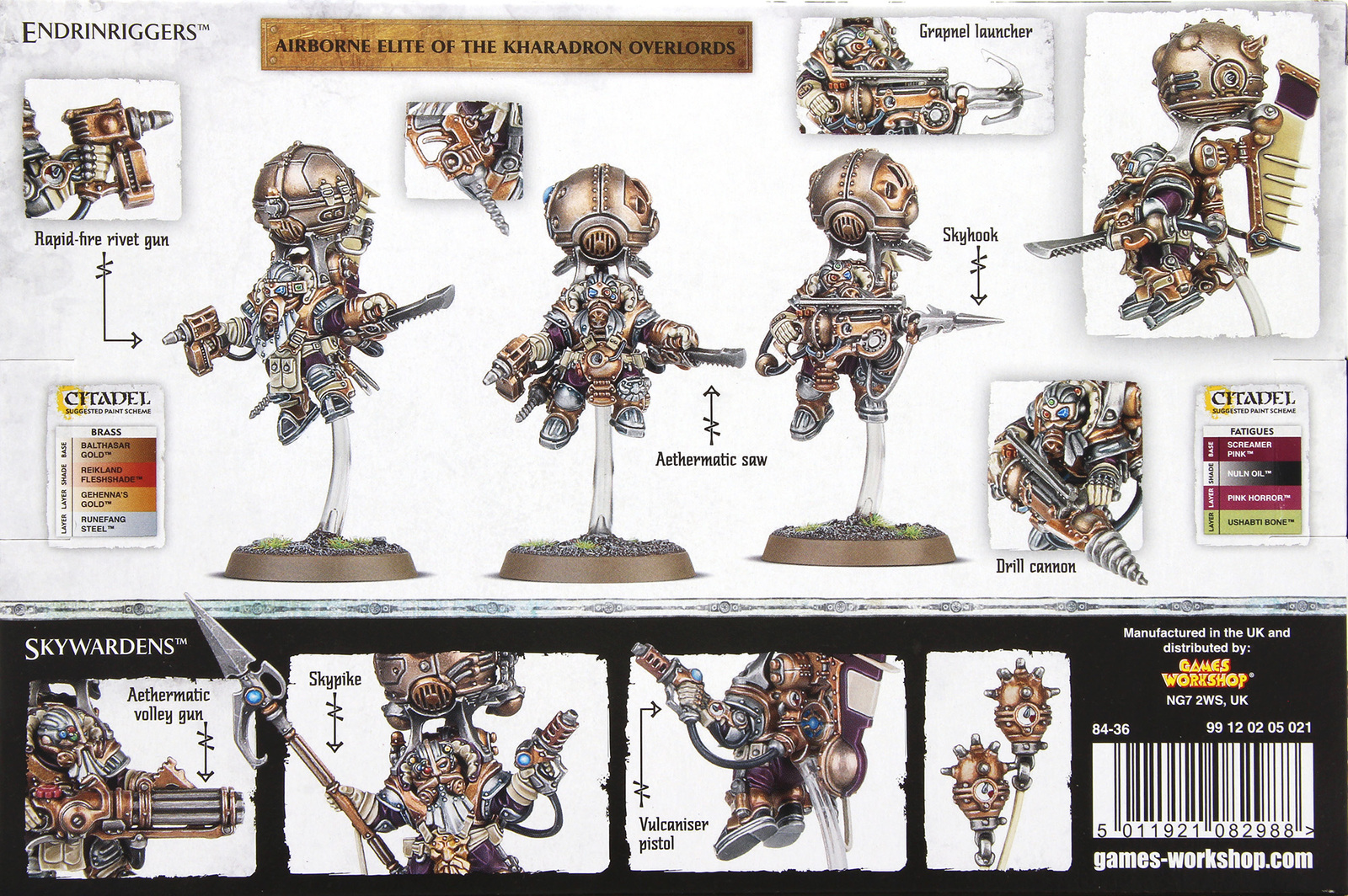 Warhammer Age of Sigmar Kharadron Overlords: Skyriggers image