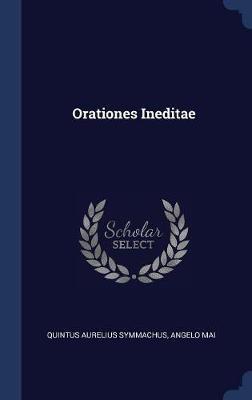 Orationes Ineditae by Quintus Aurelius Symmachus image
