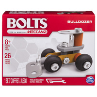 Meccano: Bolts Mini Vehicles - Bulldozer