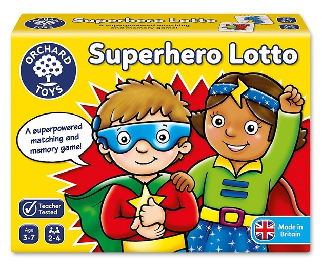 Orchard Toys: Superhero Lotto - Matching Game