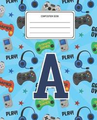 Composition Book A by Gamefun Composition Books image
