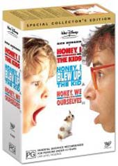 Honey, I Shrunk The Kids Box Set (4 Disc) on DVD