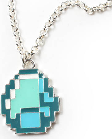 Minecraft Diamond Pendant
