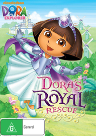 Dora The Explorer - Dora's Royal Rescue on DVD