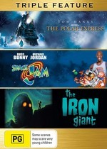 Polar Express / Space Jam / Iron Giant - Triple Feature (3 Disc Set) on DVD