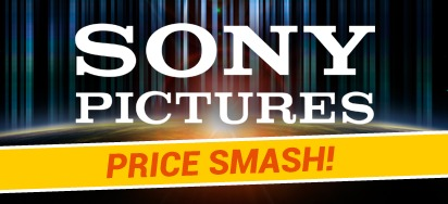 Sony Pictures July Price Smash! Up to 60% off!