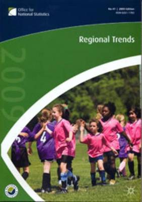 Regional Trends: No. 41 by Office for National Statistics ,