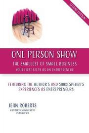 One Person Show by Jean Roberts