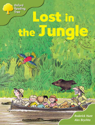 Oxford Reading Tree: Stage 6 and 7: Storybooks: Lost in the Jungle by Roderick Hunt image