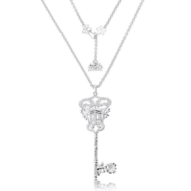Couture Kingdom: Disney - Princess Mulan Key Necklace (White Gold)