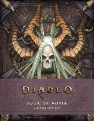 Diablo Bestiary - The Book of Adria by Robert Brooks image