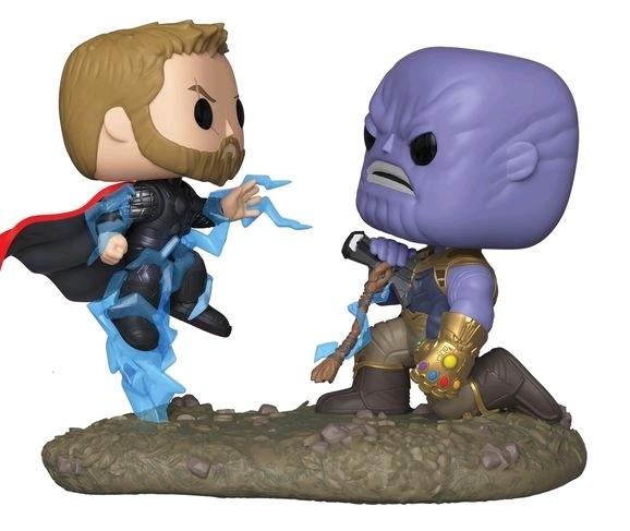 Marvel: Thor vs Thanos - Pop! Movie Moment Figure image