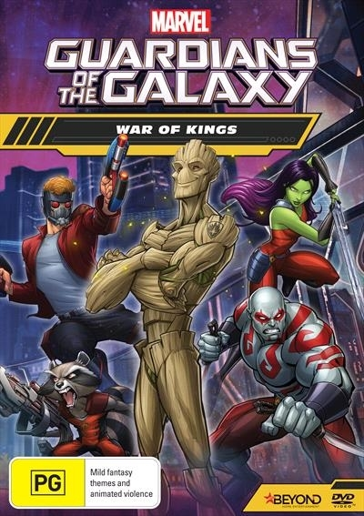 Guardians of the Galaxy: War of Kings on DVD image