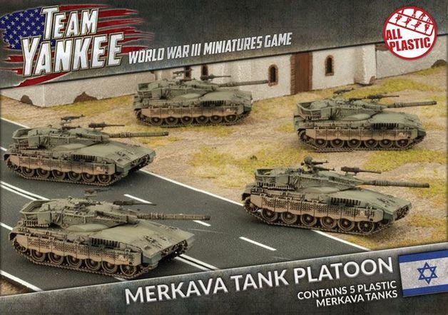 Merkava Tank Platoon