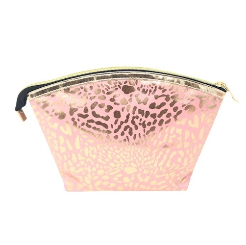 Mama Lulu: Hold-All Cosmetic Bag - Pink & Gold