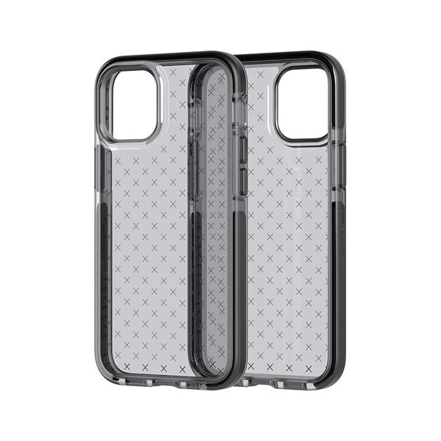 Tech21 Evo Check for iPhone 12 mini - Smokey Black