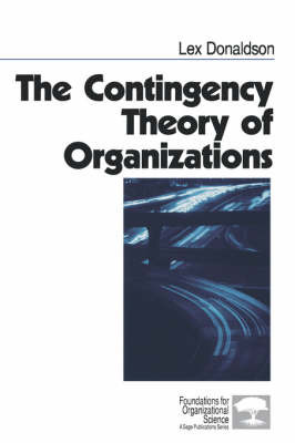 The Contingency Theory of Organizations by Lex Donaldson image