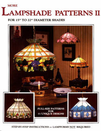 "More Lampshade Patterns: For 15"" to 22"" Diameter Shades: No. 2 by Randy Wardell image"